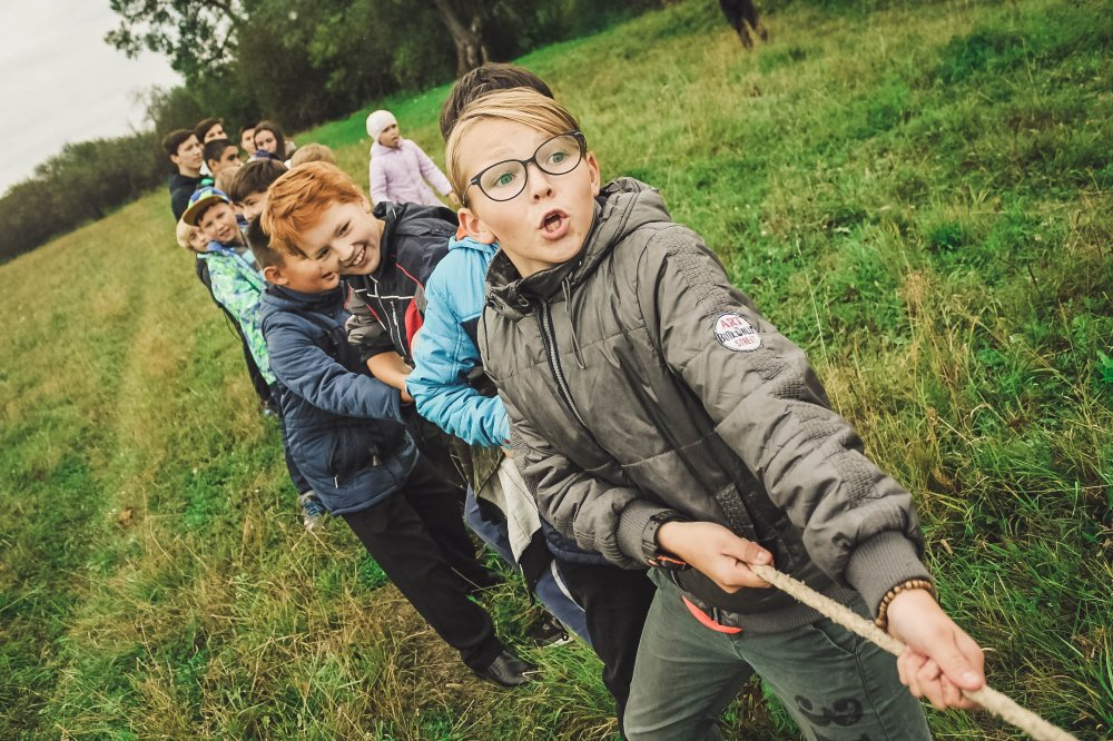 Utevistelse på förskola i Svedala